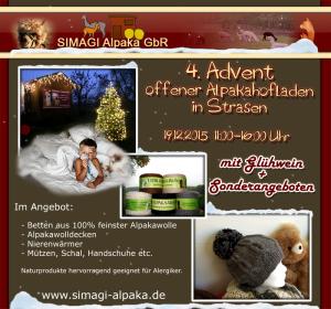 Weihnachtlicher Hofladen